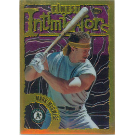 1996 Finest - Mark McGwire #74 (Gold)