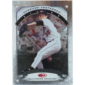 1997 Donruss Preferred - Mike Mussina Silver #132