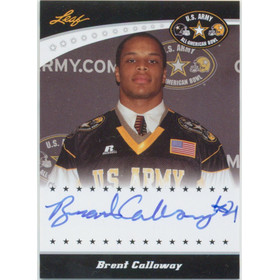 2011 Leaf Army All-American Bowl - Brent Calloway Tour Autographs #TA-BC1