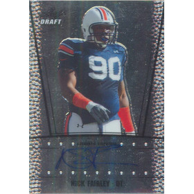 2011 Leaf Metal Draft - Nick Fairley #RC-NF1