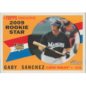 2009 Topps Heritage - Gary Sanchez RC #127
