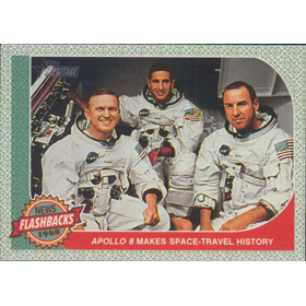 2017 Topps Heritage - Apollo 8 Makes Space-Travel History News Flashbacks #NF-6