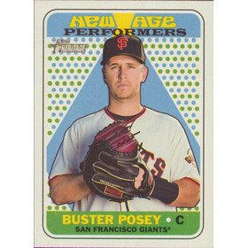 2018 Topps Heritage - Buster Posey New Age Performers #NAP-9