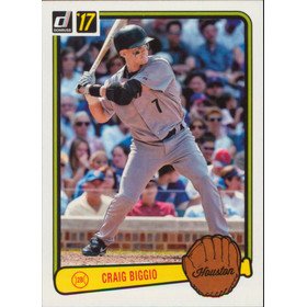 2017 Donruss - Craig Biggio '83 Retro Variations #RV-49