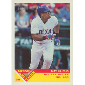 2015 Topps Heritage - Adrian Beltre Now and Then #NT-6