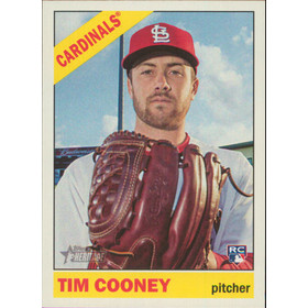 2015 Topps Heritage - Tim Cooney RC #678
