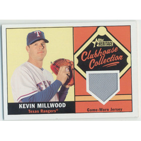 2010 Topps Heritage - Kevin Millwood Clubhouse Collection Relics #CCR-KMI
