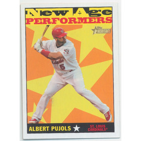 2010 Topps Heritage - Albert Pujols New Age Performers #NAP9