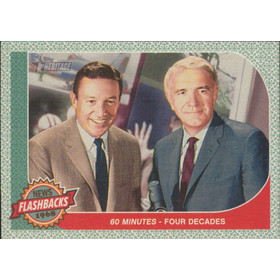 2017 Topps Heritage - 60 Minutes - Four decades News Flashbacks #NF-5