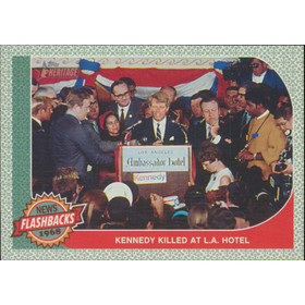 2017 Topps Heritage - Kennedy Assassination News Flashbacks #NF-3