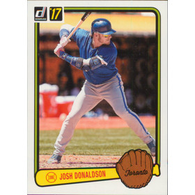 2017 Donruss - Josh Donaldson '83 Retro Variations #RV-39
