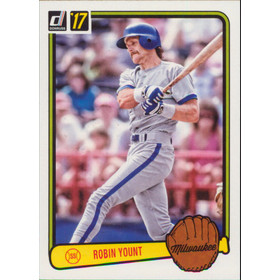2017 Donruss - Robin Yount '83 Retro Variations #RV-43