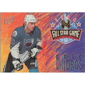 1994-95 ULTRA - ERIC LINDROS #3 ALL STAR GAME