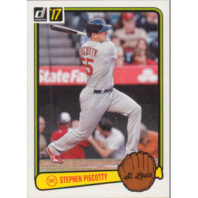 2017 Donruss - Stephen Piscotty '83 Retro Variations #RV-33
