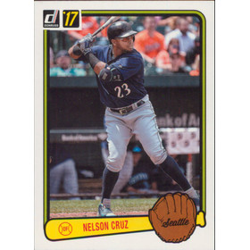 2017 Donruss - Nelson Cruz '83 Retro Variations #RV-32