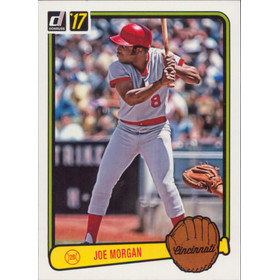 2017 Donruss - Joe Morgan '83 Retro Variations #RV-47