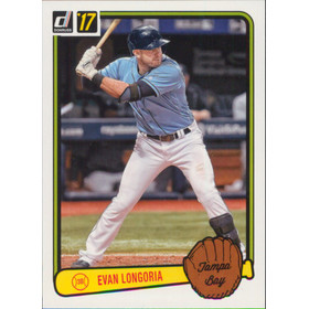 2017 Donruss - Evan Longoria '83 Retro Variations #RV-35