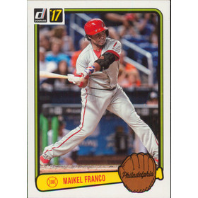 2017 Donruss - Maikel Franco '83 Retro Variations #RV-25