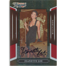 2008 Donruss Sports Legends - Jeanette Lee Signatures Mirror Red #79 190/1013