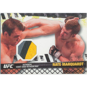 2010 Topps UFC - Nate Marquart Fight Mat Relics #FM-NM