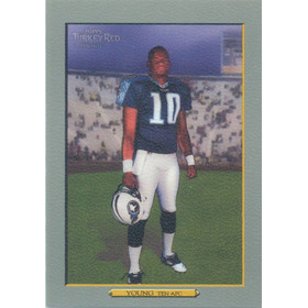 2006 Turkey Red - Vince Young RC #183A (Purple sky)