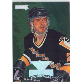 1994-95 DONRUSS - LUC ROBITAILLE #9 ICE MASTERS