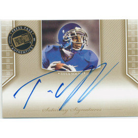 2011 Press Pass Legends - Titus Young Saturday Signatures #SS-TY