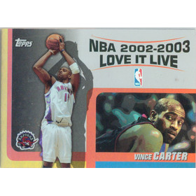 2003-04 Topps - Vince Carter Love it Live #LL-VC