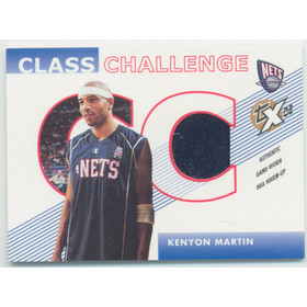 2002-03 Topps Xpectations - Kenyon Martin Class Challenge Relics #CC-KM