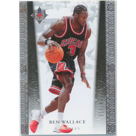 2006-07 Ultimate Collection - Ben Wallace #18 115/499