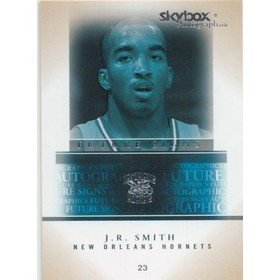 2004-05 SkyBox - J.R. Smith Autographics Future Signs #FS16