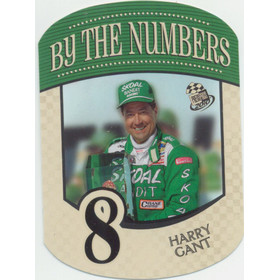 2010 PressPass - Harry Gant By the Numbers BN8