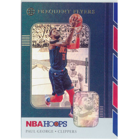 2019-20 Hoops - Paul George Frequent Flyers Holo #12