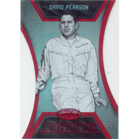 2016 Certified - David Pearson Legends Mirror Red #L6 11/75