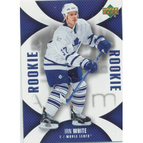 2006-07 MINI JERSEY COLLECTION - IAN WHITE #128 ROOKIE