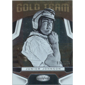 2016 Certified - Junior Johnson Gold Team #GT9 12/199