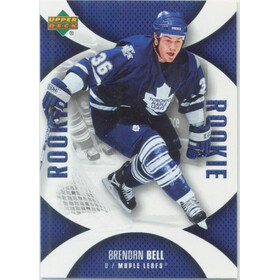2006-07 MINI JERSEY COLLECTION - BRENDAN BELL #127 ROOKIE