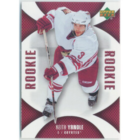 2006-07 MINI JERSEY COLLECTION - KEITH YANDLE #121 ROOKIE