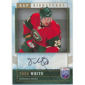 2006-07 BE A PLAYER - TODD WHITE #TW SIGNATURES
