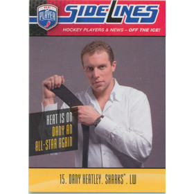2009-10 BE A PLAYER - DANY HEATLEY #S7 SIDELINES