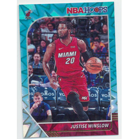 2019-20 Hoops - Justise Winslow Teal Explosion #100