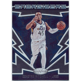 2018-19 Certified - Donovan Mitchell Energizers #E-7