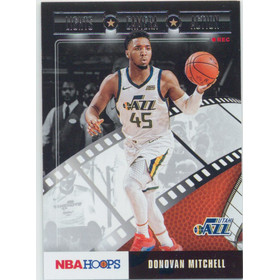 2019-20 Hoops - Donovan Mitchell Lights Camera Action #9