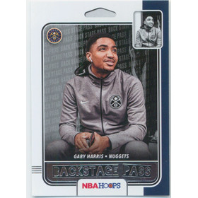 2019-20 Hoops - Gary Harris Backstage Pass #10