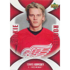 2006-07 MINI JERSEY COLLECTION - TOMAS KOPECKY #105 ROOKIE