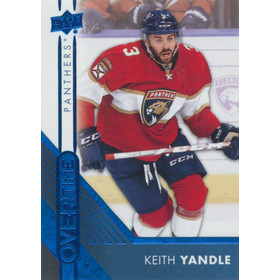 2016-17 OVERTIME - KEITH YANDLE #121 BLUE