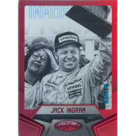 2016 Certified - Jack Ingram Mirror Red #73 38/75