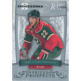 2007-08 HOT PROSPECTS - CAL CLUTTERBUCK #164 PRIZED PROSPECTS 229/999