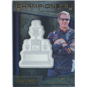 2016 Torque - Rusty Wallace Championship Vision Gold #CV4 15/149