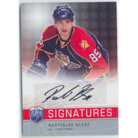 2008-09 BE A PLAYER - ROSTISLAV OLESZ #S-RO SIGNATURES